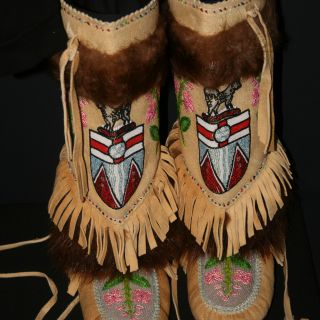 Mable Johnson 1973 mukluks.jpg